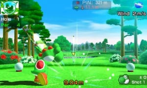 3 DS Mario Sports Superstars S GOLF 1 Tee Shot UKV 1