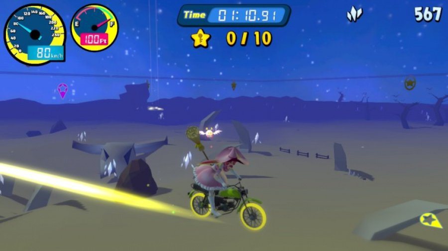 Vroom in the Night Sky Review - Screenshot 1 of 3