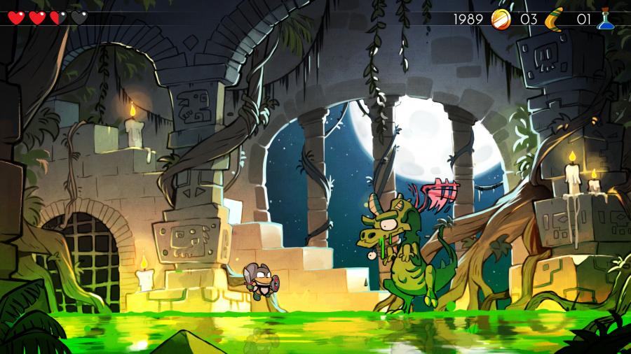 Wonder Boy: The Dragon's Trap Review - Screenshot 1 of 5