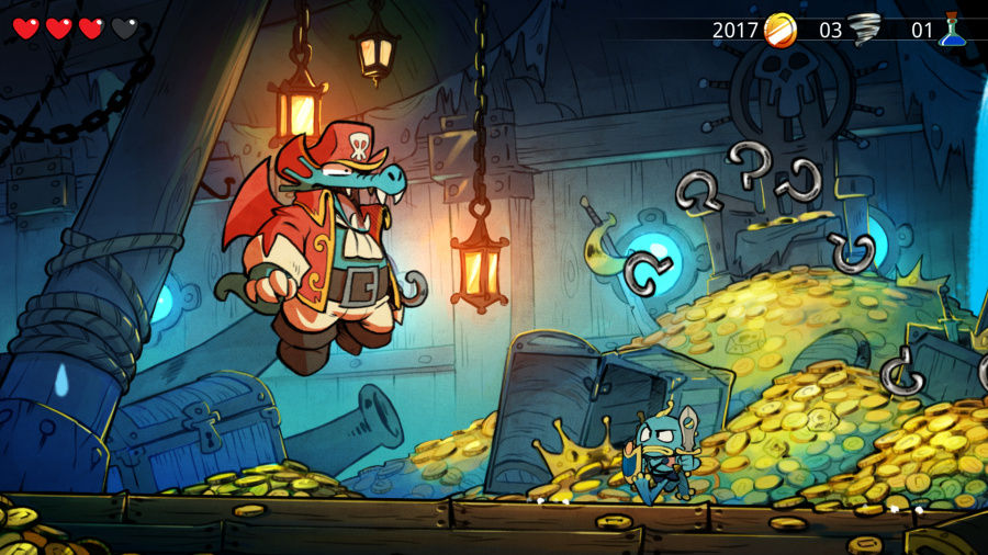 Wonder Boy the Dragons Trap 10