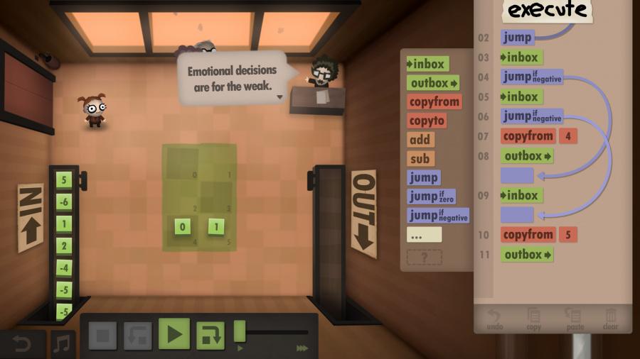 Human Resource Machine Review - Screenshot 1 of 3