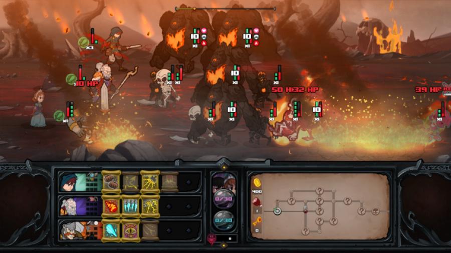 Has-Been Heroes Review - Screenshot 3 of 4