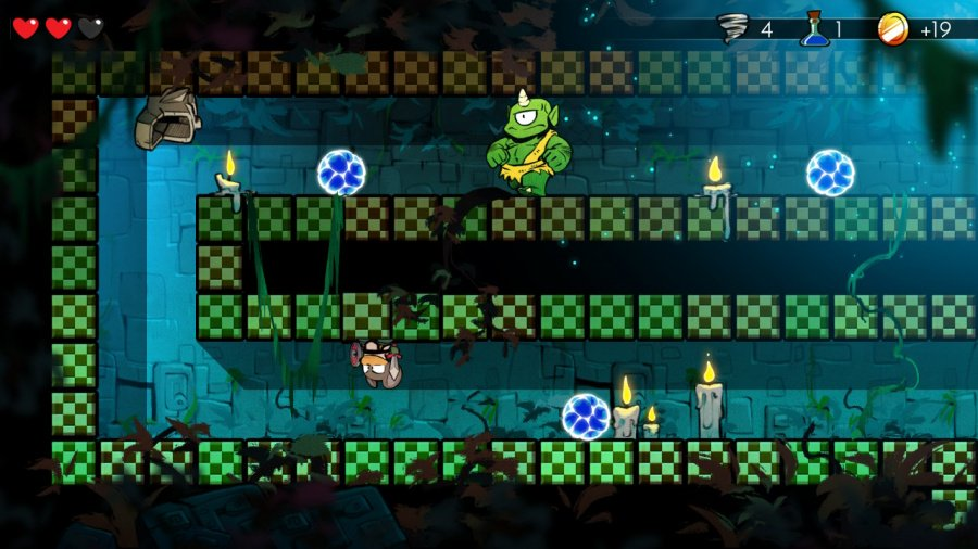 Wonder Boy: The Dragon's Trap Review - Screenshot 2 of 5