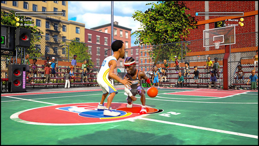 NBA Playgrounds Review - Screenshot 1 of 5