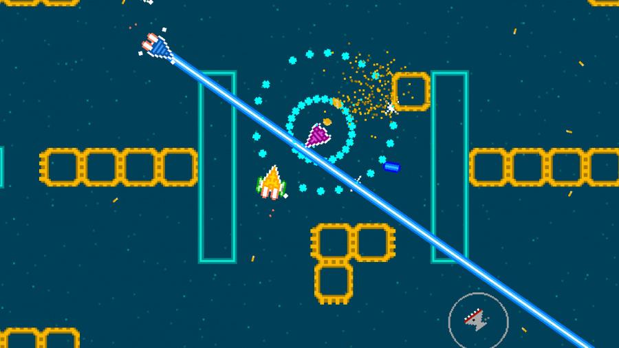Astro Duel Deluxe Review - Screenshot 1 of 3