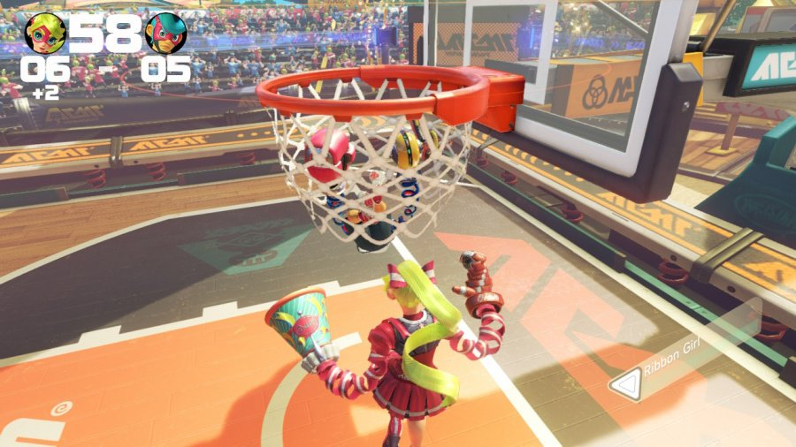 ARMS Review - Screenshot 1 of 8