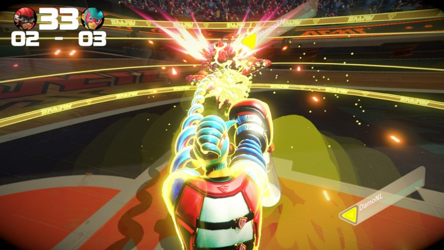 ARMS Review - Screenshot 6 of 8