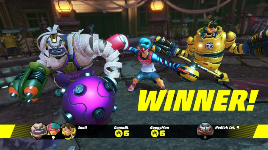 ARMS Review - Screenshot 5 of 8