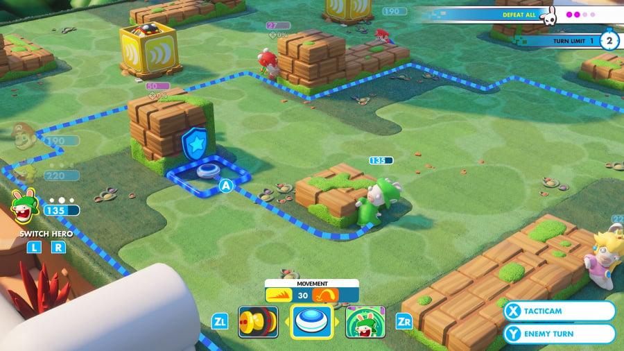 Mario + Rabbids Kingdom Battle Review - Screenshot 1 of 9