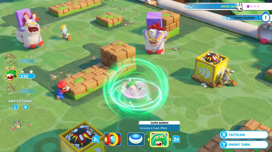 Mario + Rabbids Kingdom Battle Review - Screenshot 4 of 9