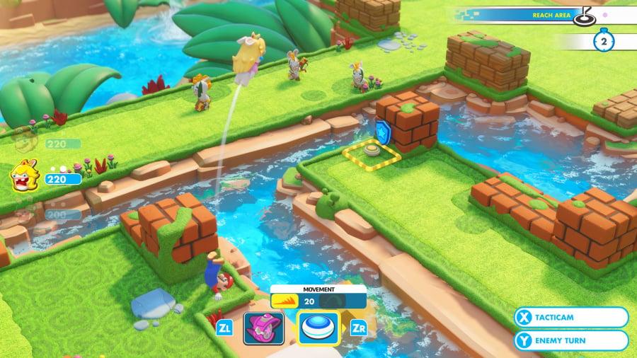 Mario + Rabbids Kingdom Battle Review - Screenshot 3 of 9