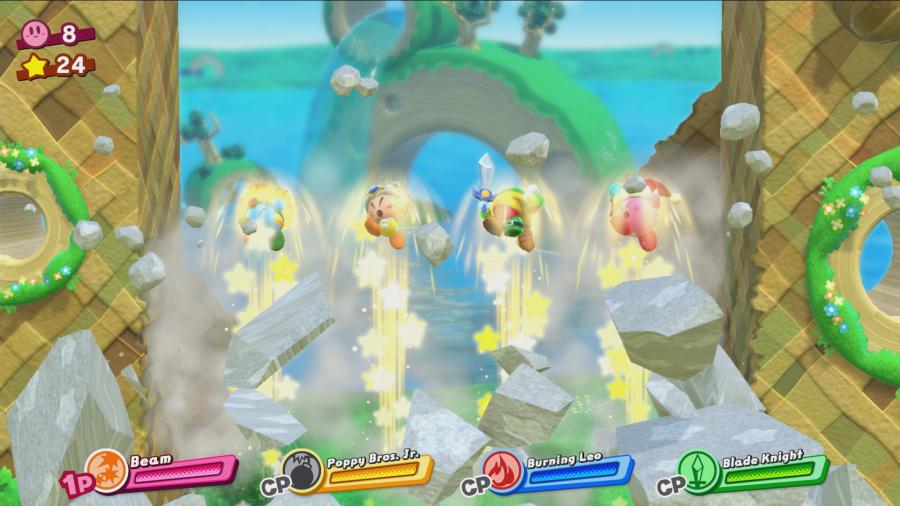 Kirby Star Allies Review - Screenshot 1 of 6