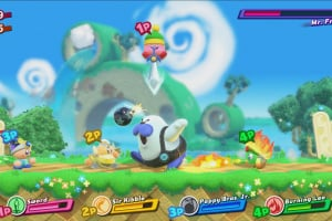 Kirby Star Allies Screenshot