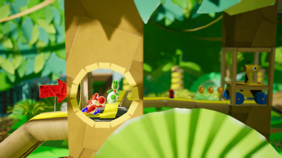 Yoshi's Crafted World Review - Screenshot 1 of 6