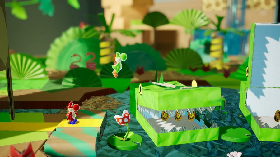 Yoshi's Crafted World Review - Screenshot 4 of 6