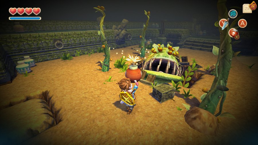 Oceanhorn: Monster of Uncharted Seas Review - Screenshot 3 of 4