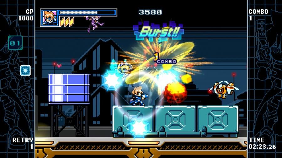 Mighty Gunvolt Burst Review - Screenshot 1 of 5