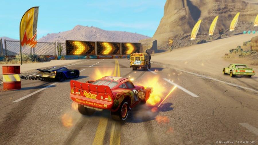 Cars 3: Driven to Win Review - Screenshot 2 of 6