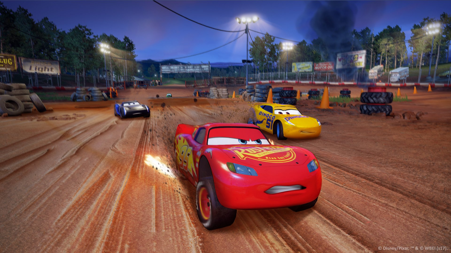 cars 3 driven to win nintendo switch news reviews trailer screenshots. Black Bedroom Furniture Sets. Home Design Ideas