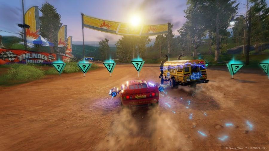 Cars 3: Driven to Win Review - Screenshot 1 of 6