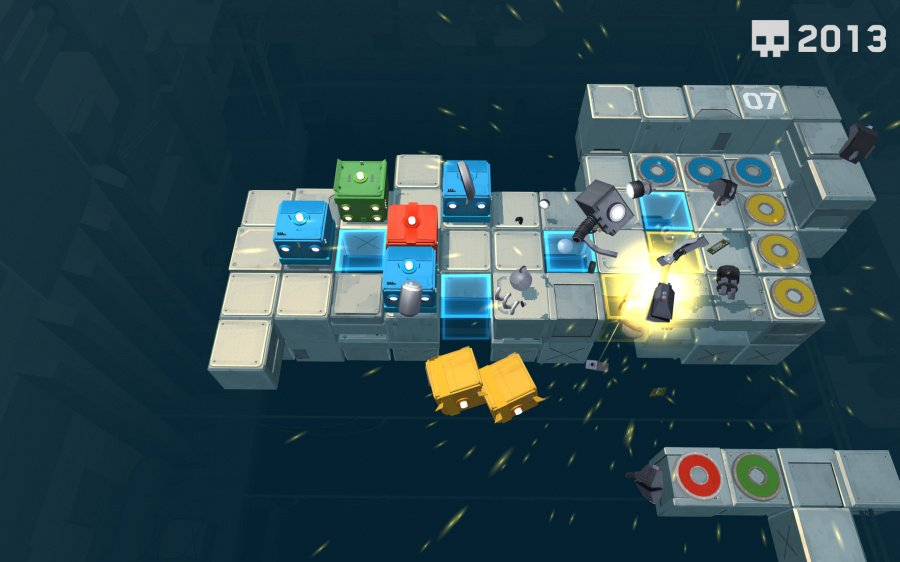 Death Squared Review - Screenshot 1 of 4
