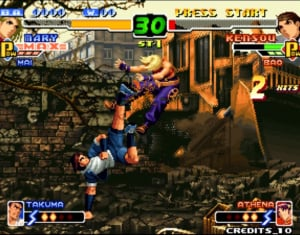 The King of Fighters 2000 Review - Screenshot 1 of 4