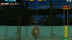 SEGA Bass Fishing Screenshot