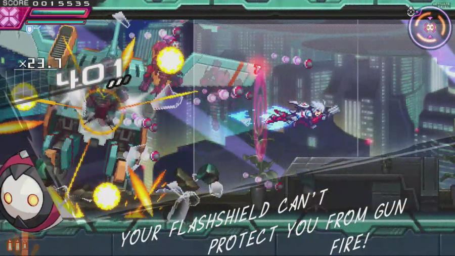 Azure Striker Gunvolt: Striker Pack Review - Screenshot 3 of 3