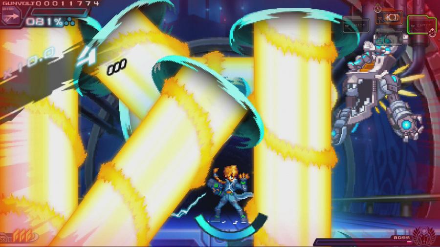 Azure Striker Gunvolt: Striker Pack Review - Screenshot 1 of 3