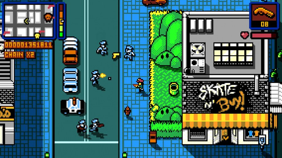 Retro City Rampage DX Review - Screenshot 2 of 4