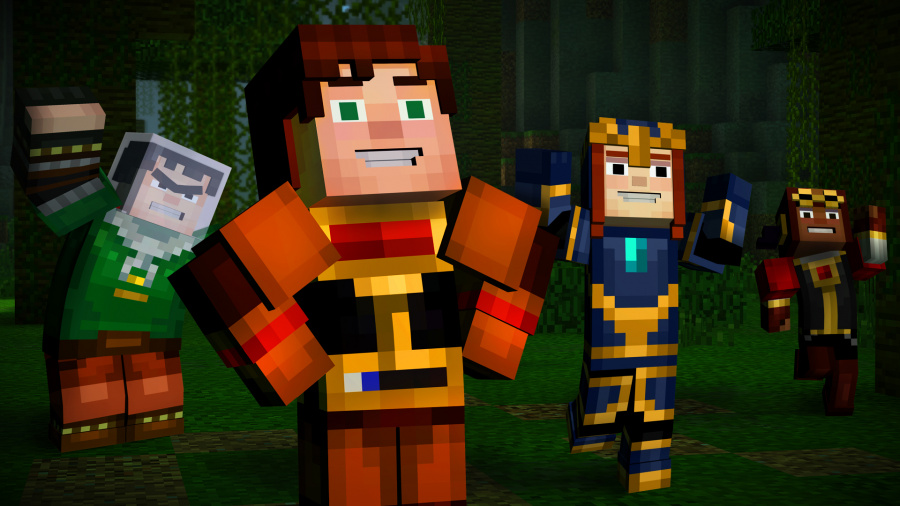 Minecraft: Story Mode - The Complete Adventure Review - Screenshot 3 of 3