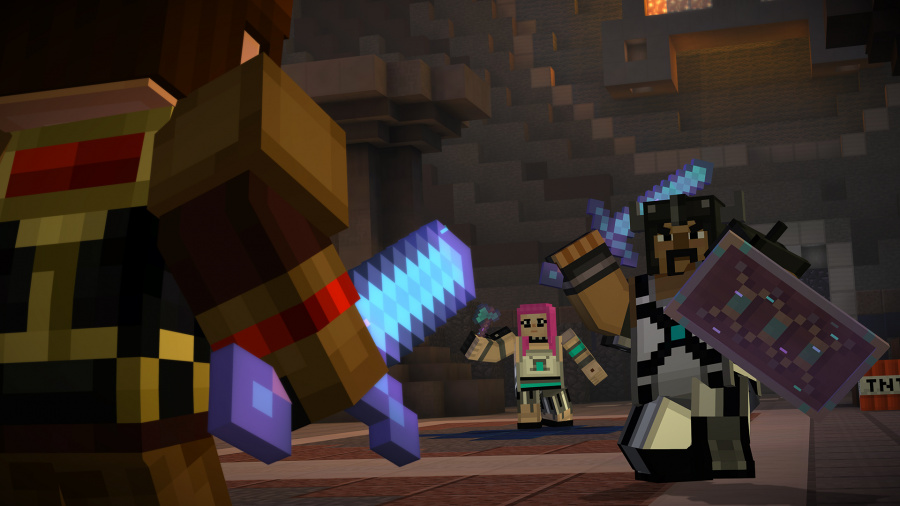 Minecraft: Story Mode - The Complete Adventure Review - Screenshot 1 of 3