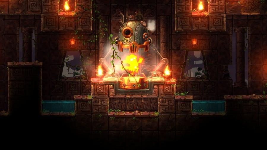 SteamWorld Dig 2 Review - Screenshot 1 of 5