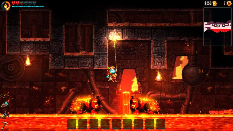 SteamWorld Dig 2 Review - Screenshot 5 of 6