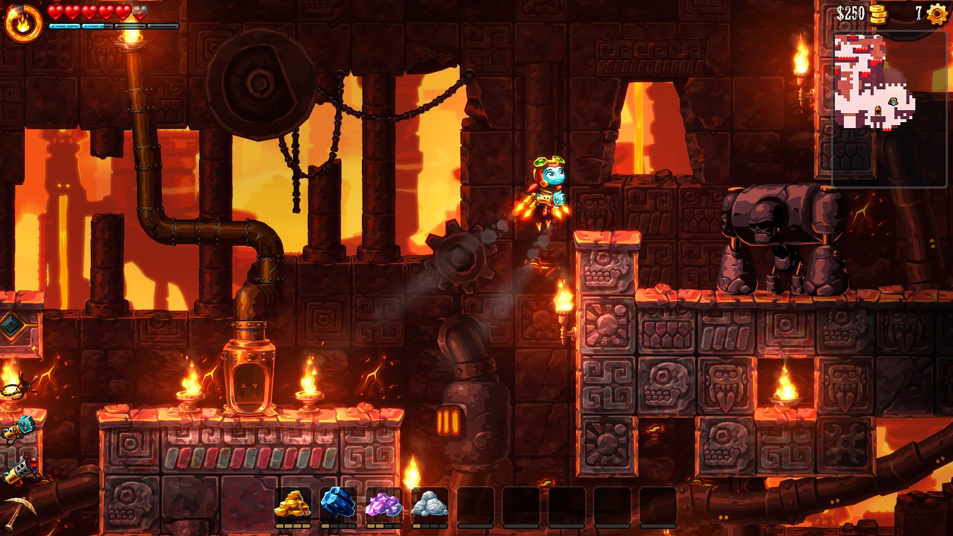 SteamWorld Dig 2 Launch Trailer Hypes The Search For Rusty