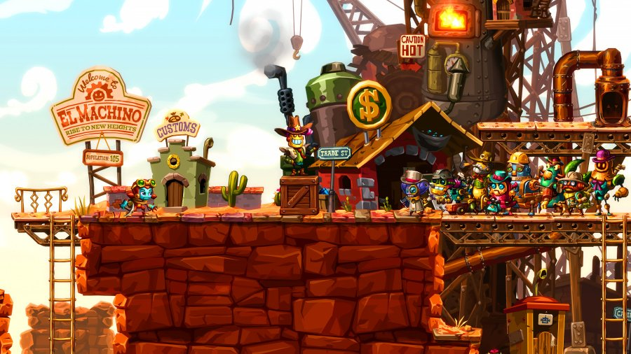 Steam World Dig 2- Screenshot 11