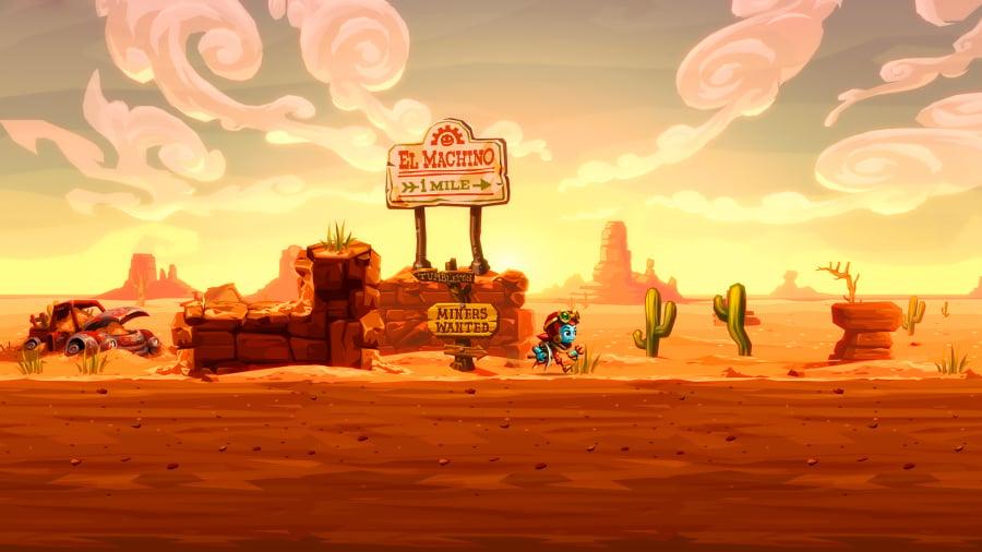 Steam World Dig 2- Screenshot 1
