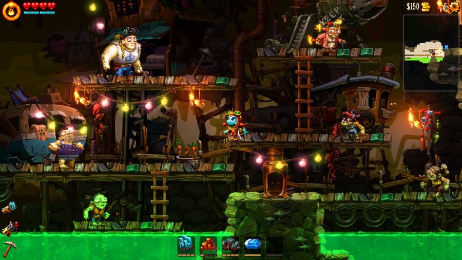 SteamWorld Dig 2 Review - Screenshot 1 of 6