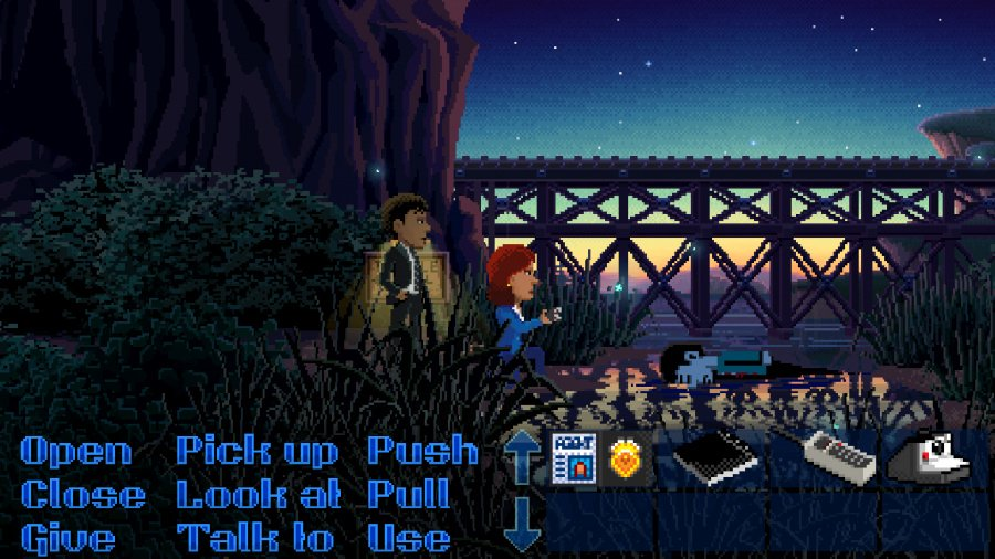 Thimbleweed Park Review - Screenshot 1 of 6