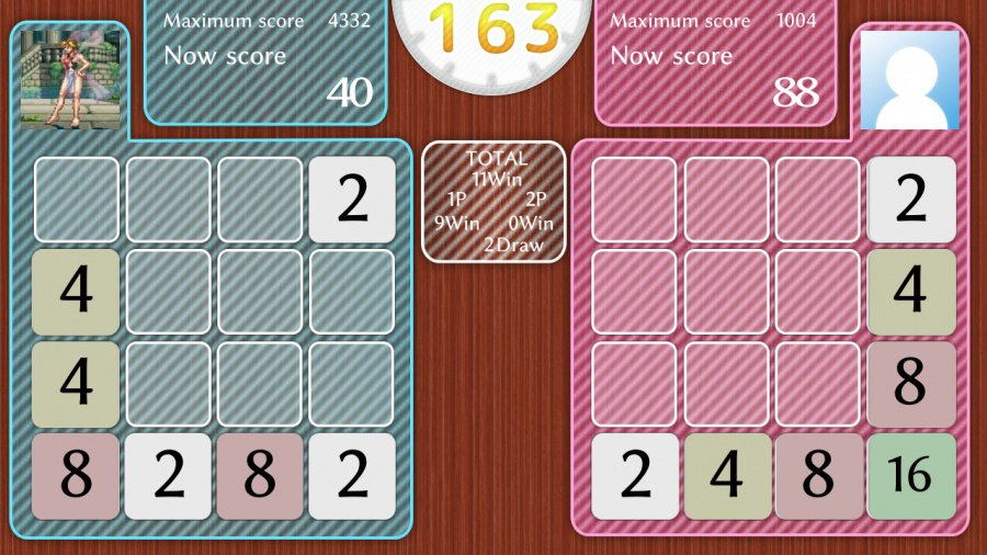 Physical Contact: 2048 Review - Screenshot 1 of 2