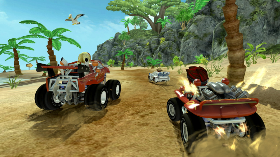 Screenshot01 Offroad Kart Racing