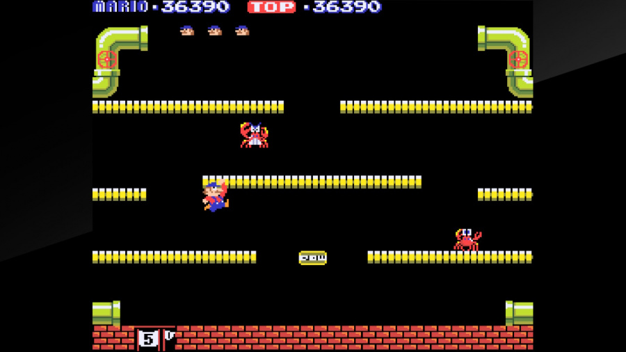 Arcade Archives Mario Bros. Review - Screenshot 4 of 4