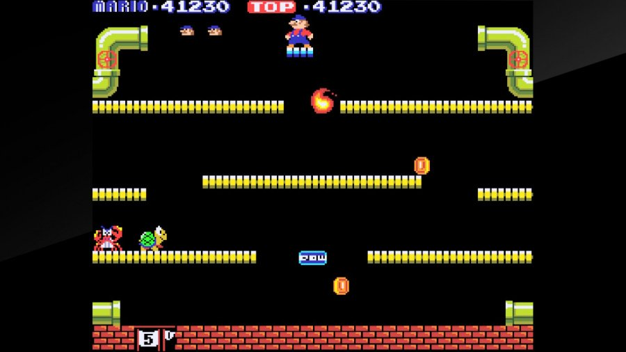 Arcade Archives Mario Bros. Review - Screenshot 1 of 4