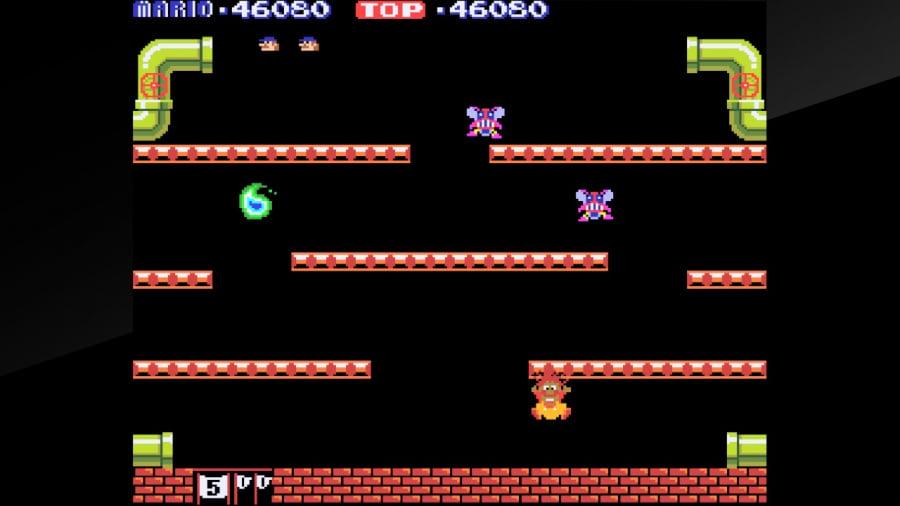 Arcade Archives Mario Bros. Review - Screenshot 2 of 4