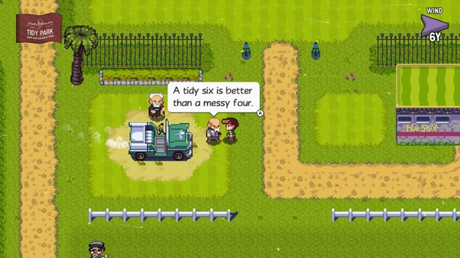 Golf Story Review - Screenshot 1 of 4