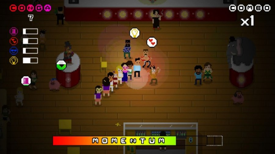 Conga Master Party! Review - Screenshot 1 of 6
