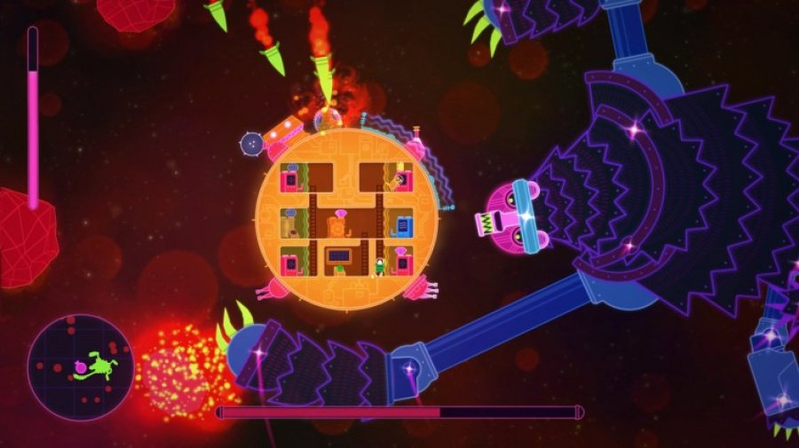 Lovers in a Dangerous Spacetime Review - Screenshot 1 of 3