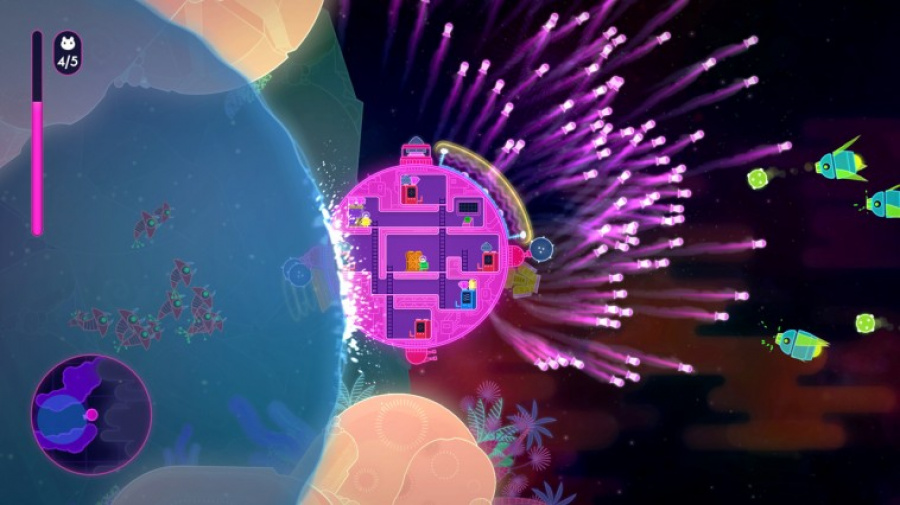 Lovers in a Dangerous Spacetime Review - Screenshot 3 of 3