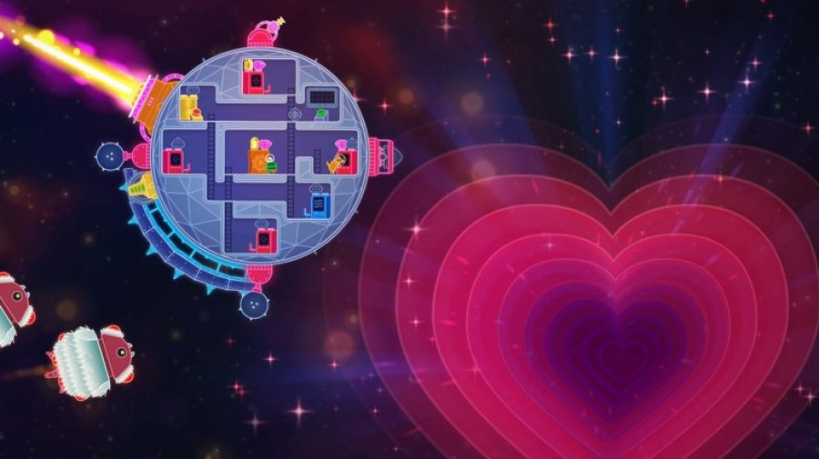 Lovers in a Dangerous Spacetime Review - Screenshot 2 of 3