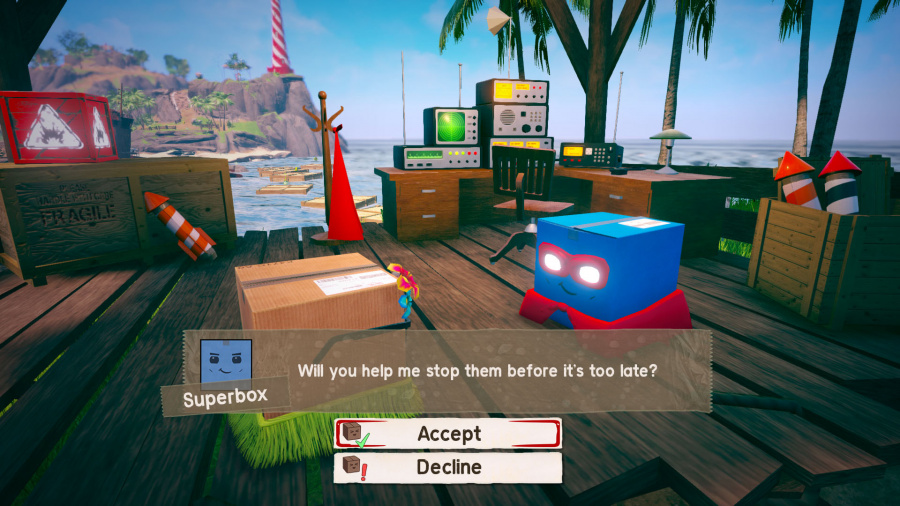 Unbox: Newbie's Adventure Review - Screenshot 1 of 4